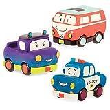 B. Toys BX1909Z - Juego de Mini vehículos de tracción
