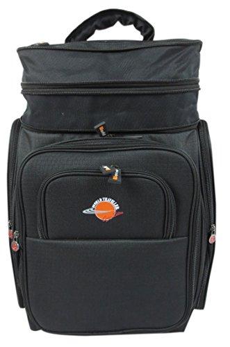 World Traveller Xpand volo approvato piume, leggero da cabina espandibile Carry On-Zaino Valigia Trolley da bagaglio a mano ideale per British Airways Trademark Thomas Cook etc....