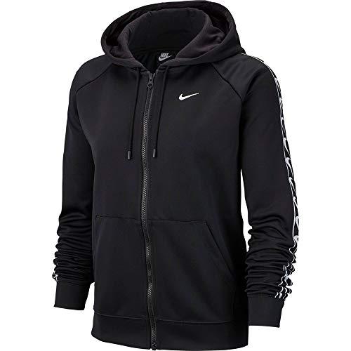 Nike Damen Sportswear Full-Zip Hoodie Schwarz S (EU 36-38)