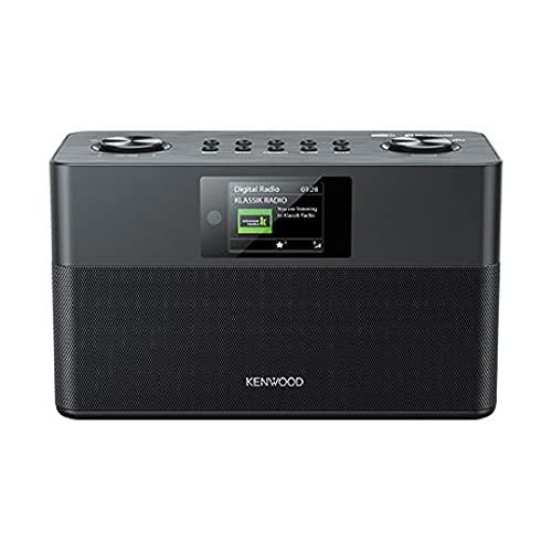 Radio estéreo KENWOOD CR-ST80DAB-B Color Negro, Dab+ y Bluetooth Audio