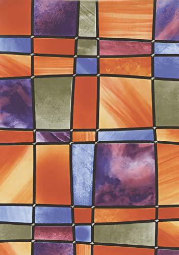 Fablon Barcelona Fensterfolie, selbstklebend, 67,5cmx2m-Rolle