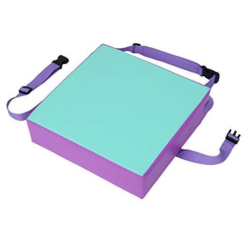 Hoge stoel voor kinderen, kunstleer + spons, hoge dichtheid, gemakkelijk te reinigen. Groen