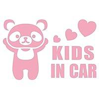 imoninn KIDS in car ステッカー 【シンプル版】 No.12 パンダさん (ピンク色)