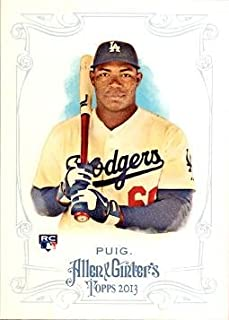 2013 Topps Allen & Ginter Baseball #44 Yasiel Puig Rookie Card - His 1st official Rookie Card!