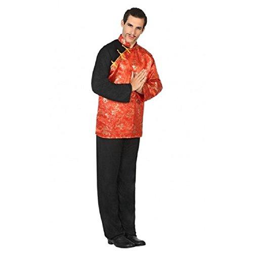 Atosa-17406 Disfraz Chino, color rojo, M-L (17406)