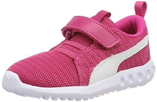 Puma Unisex-Kinder Carson 2 V Inf Sneaker, Pink (Fuchsia Purple-Puma White), 27 EU
