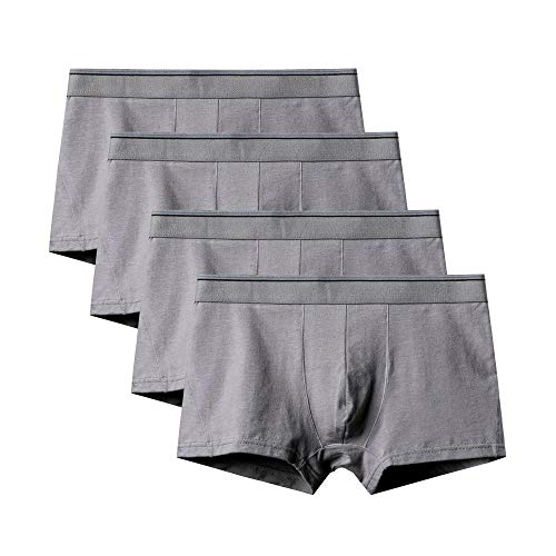 Kliy heren boxershorts van katoen, extra breed, maat 6XL (4-pack)