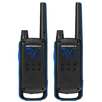 Motorola Talkabout T800 Two-Way Radios 2 Pack Black/Blue
