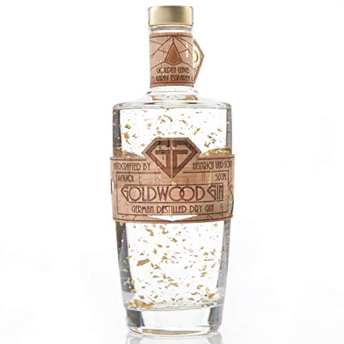 Goldwood Gin - Gold Leaves - mit 23Karat Blattgold - Handcrafted am Bodensee