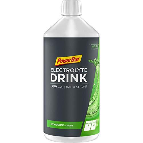 Powerbar Elektrolyte Drink Woodruff 1000ml - Isotonisches Sportgetränk - 5 Elektrolyte + C2MAX