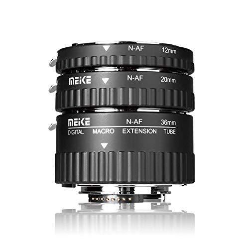 MEIKE MK-N-AF1-A Makro Elektronische Halterung Autofokus Makro Metall Verlängerungsrohr Adapter Für Nikon DSLR Kamera