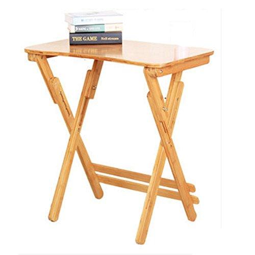 Tableau LHA Table à snacker Pliante Premier Housewares - Bois Naturel (Couleur : Arc Models)