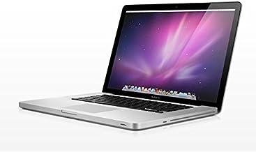 Apple MacBook Pro MD035LL/A Intel Core i7-2820QM X4 2.3GHz 4GB 750GB, Silver (Renewed)