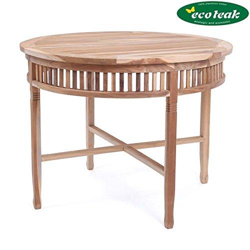 PLOSS ECO-TEAK® Tisch New Orleans - RUND Ø 100 cm