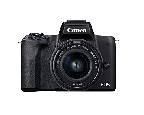 Canon EOS M50 Mark II + EF-M 15-45mm is STM Kit...