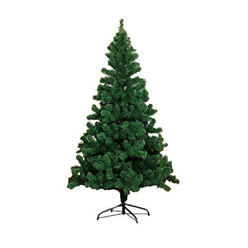 LSX - Corona Luxury Christmas Tree Set Encrypted Aghi di Pino Foglie Staffa Stabile / - / (Size : 1.5m)