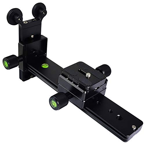 "Oferta de MENGS® L200 rieles de lente para cámara de 1/4"" tornillo teleobjetivo zoom compatible Arca Swiss"
