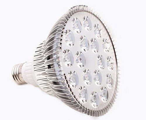 LED PlantLight 18W 植物育成使用 白色電球 E26 観葉植物 水耕栽培 家庭菜園 水草栽培