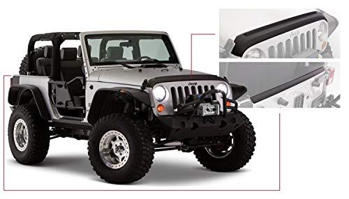 Bushwacker 14013 Jeep Trail Armor Hood and Tailgate Protector Set