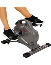 Sunny Health & Fitness SF-B0418 Magnetic Mini Exercise Bike with Digital Monitor and 8 Level Resistance