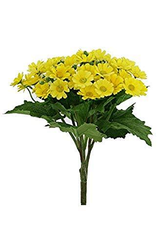 Renaissance 2000 Artificial Daisy Bush, Yellow