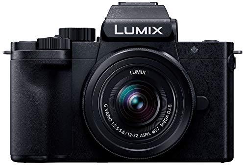 パナソニック ミラーレス一眼カメラ ルミックス G100K 標準ズームレンズキット ブラック DC-G100K-K