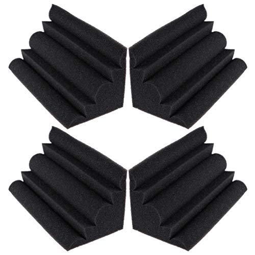 BraveWind Juego de 4 unidades de espuma acústica acústica para...