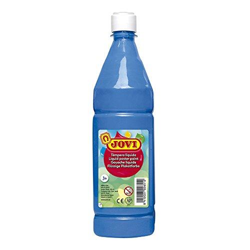 Jovi 511 - Témpera líquida, Azul Cyan, 1000 ml