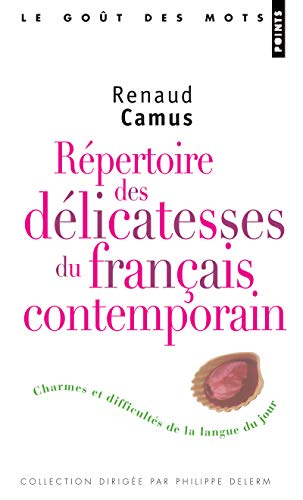 Répertoire des délicatesses du français contemporain
