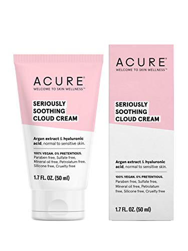 ACURE Seriously Soothing Cloud Cream; 1.7 Fl. Ounce . (Packaging May Vary),, 1.7 Fl Ounce (), 0813424020994