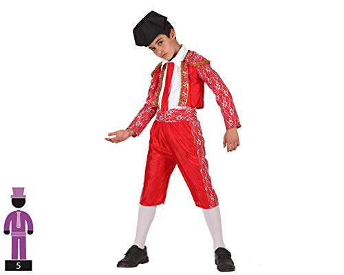 ATOSA disfraz torero niño infantil 10 a 12 años