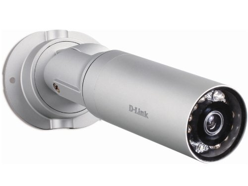 D-Link DCS-7010L Videocamera di Sorveglianza da Esterno Cloud, Wireless N, Day and Night, Full HD, Grigio