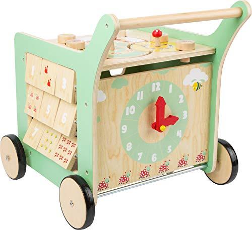 Small Foot 10947 Chariot de marche Move it, en bois certifié 100% FSC, jouet de...