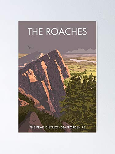 AZSTEEL The Roaches Poster Poster 11.7 * 16.5