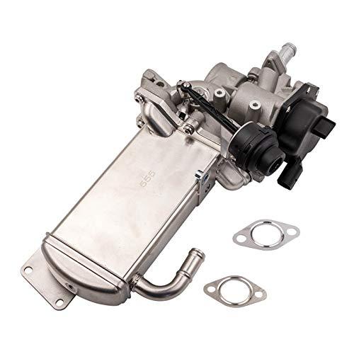 Refrigerador de la válvula de gas de escape EGR para Audi A4 A5 A6 Q5 2.0 TDI 03L131512BQ 03L131512CD 5PINS Válvula de gas de escape eléctrico 3L131512DT Para un nuevo kit de repuesto