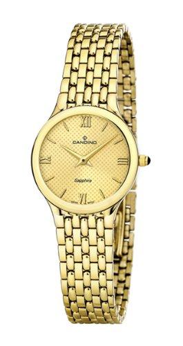 Candino C4365/3 - Reloj para Mujer de Acero Inoxidable Dorado