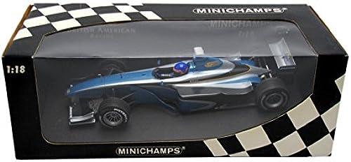 Minichamps - Vehicules  - 180990120 - Bar Supertec 01 Test voiture 1999 bleu   - 1 18