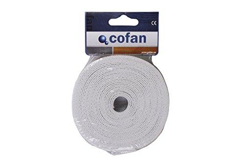 Cofan 08101095 Cinta de persiana, Beige, 22 mm x 5 m