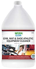 UP TO 80x MORE EFFECTIVE THAN BLEACH & NON-CORROSIVE: Natural Clean's Professional Gym Cleaner is the result of an advanced production technology that produces Hypochlorous Acid (HOCl) – one of the best germ eliminators known to mankind. HOCl has bee...