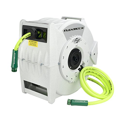 Flexzilla Retractable Water Hose Reel, 1/2' x 70' - L8340FZ