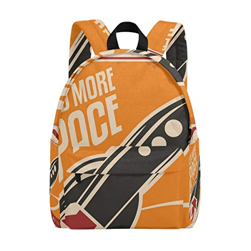 DEZIRO I Need More Space In My Life Sac d'école pour homme