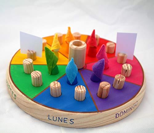 LUDIMAT Calendario semanal Eventos Waldorf Montessori