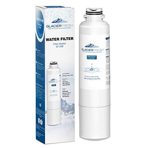 Samsung Refrigerator Water Filter Replacement DA29-00020B HAF-CIN/EXP For French Door Fridge Kitchen By GLACIER FRESH (1 Pack)