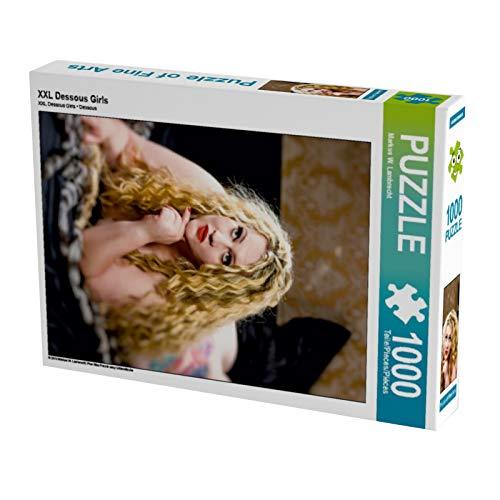XXL Dessous Girls Puzzle de 1000 piezas alto: Plus Size Mujer en ropa interior sexy (CALVENDO personas)