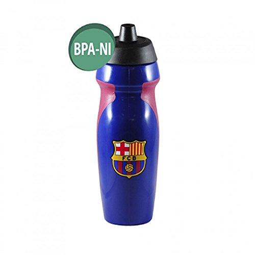 Alusport Bottles Bouteille en Plastique de Sport pour Homme Motif FCB Bleu 0,6 l