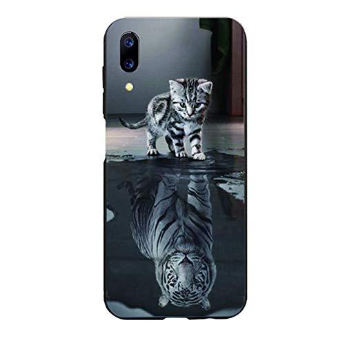 Unbekannt Easbuy Handy Hülle Soft TPU Silikon Case Etui Tasche für UMI UMIDIGI One Max Smartphone Bumper Back Cover Handytasche Handyhülle Schutzhülle