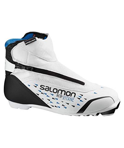 Salomon Damen BOTAS NORDICO RC8 VITANE PROLINK Ski-Stiefel, Black, 42 EU