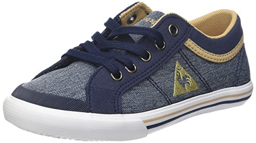 Le Coq Sportif Unisex Kinder Saint Gaetan GS Craft Sneaker, Blau Dress Blue Croissant, 39 EU