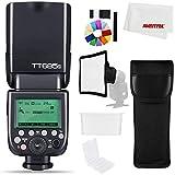 Godox TT685S - Flash estroboscópico para cámara (2,4 G, HSS, 1/8000s, i-TTL GN60, flash Speedlite inalámbrico para Sony A77II, A7RII, A7R, A58, A9, A6300, A6500)