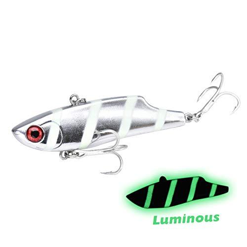 Esca da pesca sommersa vibrazione plastica dura VIB pesca al...